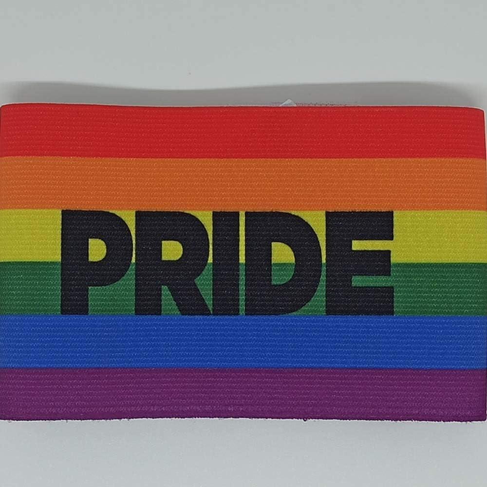 DE TOO+ BOGP Brazalete de Capitán, Hombres, Bandera Orgullo, 31X8: Amazon.es: Deportes y aire libre
