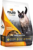 Nulo Freestyle Freeze-Dried Raw Cat Food - Grain Free Cat Food with Probiotics, Ultra-Rich Protein to Support Digestive…