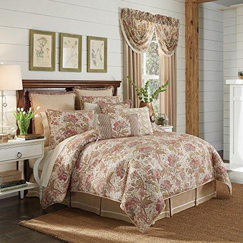 - Croscill Camille Queen Comforter Set, 4 Piece