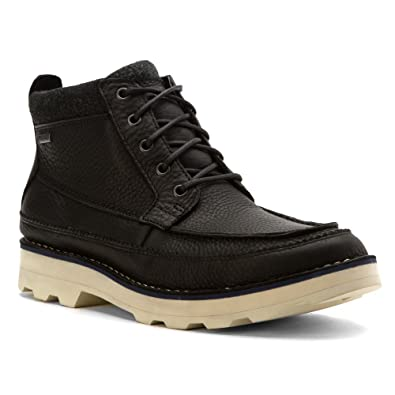 e4ca23a87f6 Clarks Men's Korik Rise GTX Black Leather Boot 7 D ...