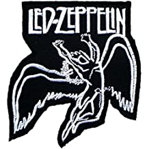 Led Zeppelin Rock Heavy Metal Music Band Iron on Patches #F