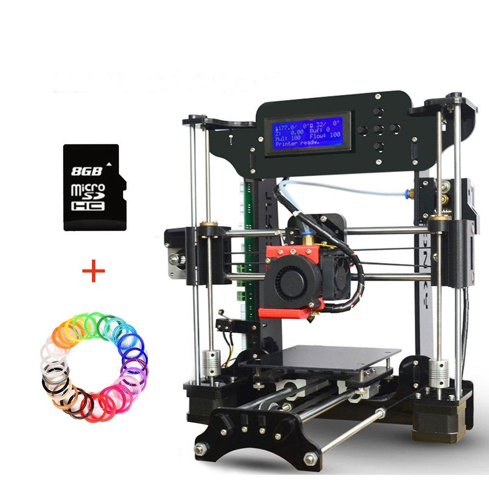 Impresoras 3D, DIY Reprap Prusa i3 kit de impresora de escritorio 3D, Alta Precisió n DIY 3D Impresoras Soporte de tarjeta SD y Impresió n Off-line Alta Precisión DIY 3D Impresoras Soporte de tarjeta SD y Impresión Off-line TRONXY XY-100