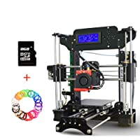 Impresoras 3D, DIY Reprap Prusa i3 kit de impresora de escritorio 3D, Alta Precisión DIY 3D Impresoras Soporte de tarjeta SD y Impresión Off-line