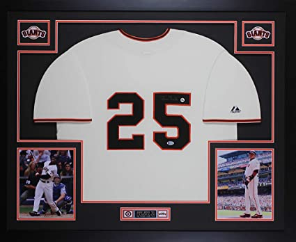 BARRY BONDS SF GIANTS NAMEPLATE for AUTOGRAPHED Signed BAT-JERSEY-BASEBALL-PHOTO