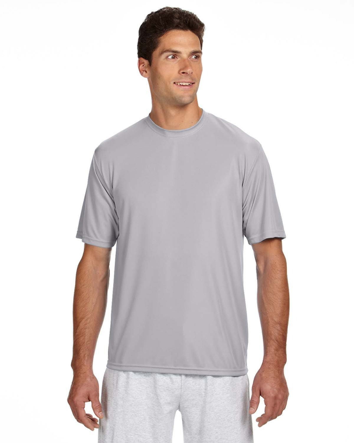 A4 Men's Cooling Performance Crew Short Sleeve Tee Moshay Inc. N3142