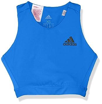 adidas Sport-BH Sujetador Deportes Sin aro - Sujetadores (Deportes, Azul, Sin