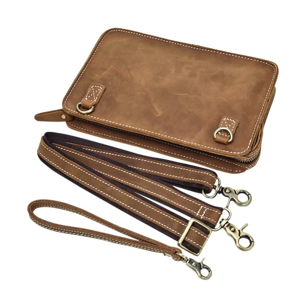 Genda 2Archer Small Leather Pouch iPad Mini Satchel Bag