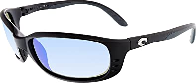 71f785c79cd5e Costa Del Mar Sunglasses - Brine- Glass   Frame  Black Lens  Polarized Blue