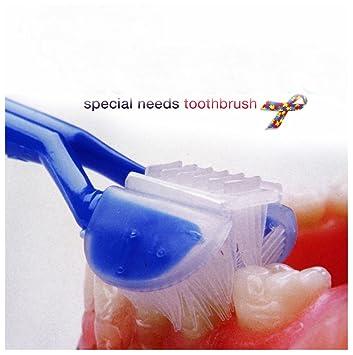 Cepillo de dientes para cepillos de dientes necesidades especiales autismo autista ASD: Amazon.es: Oficina y papelería
