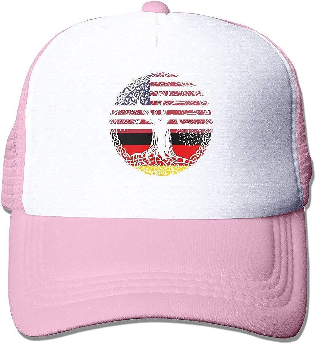 Amerikanische Herz-deutsche Flagge wurzelt justierbaren