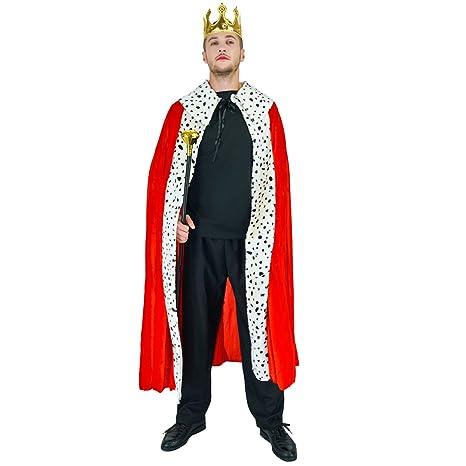Sea Hare Costume da re di lusso per uomo adulto  Amazon.it  Giochi e ... 253d817d63e8