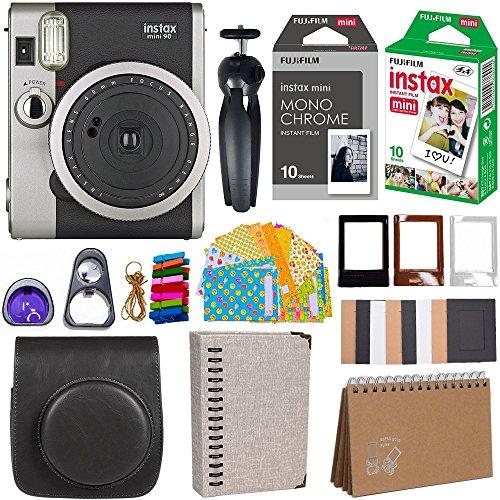 Fujifilm Instax Mini 90 Instant Camera + Fuji Instax Film...