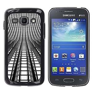"""Pulsar Snap-on Series Teléfono Carcasa Funda Case Caso para Samsung Galaxy Ace 3 , Se enciende Arquitectura Arquitectura Ciudad"""""""