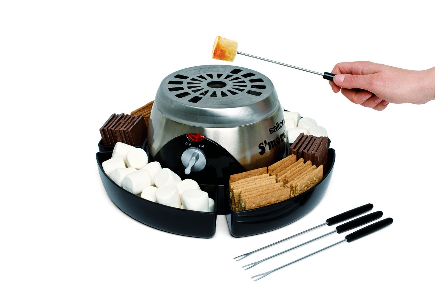 Electric S'More Maker, Stainless Steel