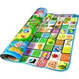 Fashiongallery Health Doulble-Side Play Mats For Kids Baby Toys Mat Children River Animal Green Rug Carpet Children's Toys Floor Mat(120*180*0.5)