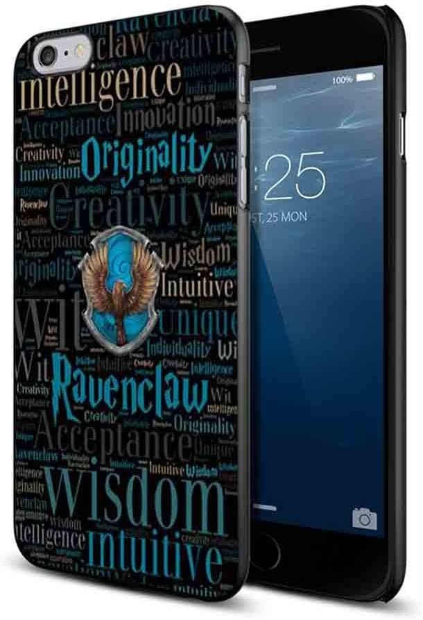 House Ravenclaw Harry Potter Wallpaper For Iphone And Samsung Galaxy Case Iphone 6 6s Black Amazon Co Uk Electronics