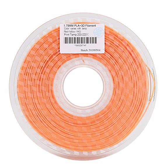 Tosuny Filamento PLA 1.75 mm, filamento de impresión 3D PLA 1.75 ...