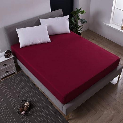 Ystdebris Colcha impermeable de color puro para colchón