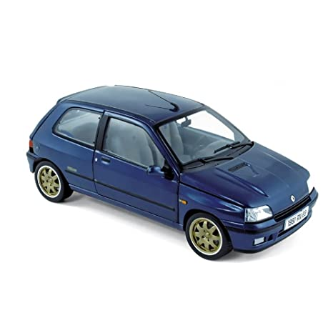 "Norev NV185230 - Escala 1:18 ""Renault Clio Williams 1993 Azul Modelo de"
