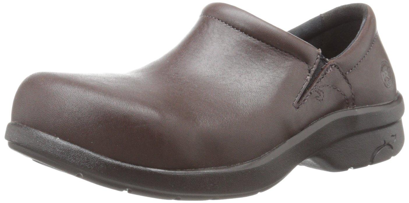 Timberland PRO Women's Newbury ESD Work Shoe,Brown,5.5 M US
