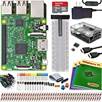 Viaboot Raspberry Pi 3 Ultimate Kit — Official Micro SD Card, Premium Clear Case Edition
