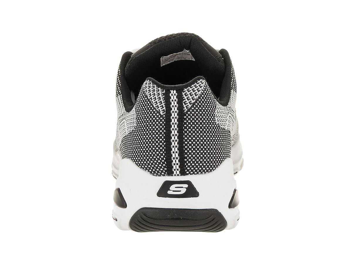 Skechers Herren D 'LITE Ultra WeißSchwarz Casual Schuh 11,5