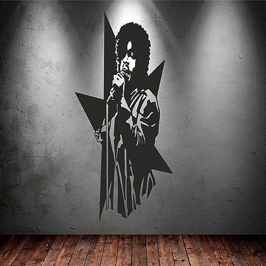 jiuyaomai Prince Singer Vinilo Pegatinas de Pared de Arte Nueva ...