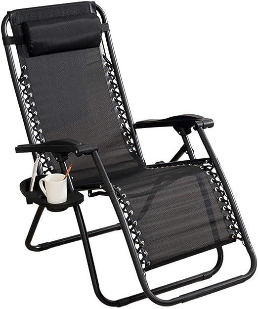 Chair Multifuncional Sillón Tumbona Jardin reclinable Plegable Descanso Siesta Silla de Ocio Silla de Playa,Muy Adecuado, Oficina, hogar, Exterior,Puede soportar 150kg,95 * 68 * 15 cm: Amazon.es: Hogar