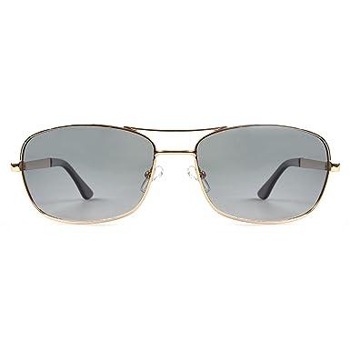 2c454702f5 Highland Park Police Unisex Sunglasses Gold Titanium Alloy Frame ...