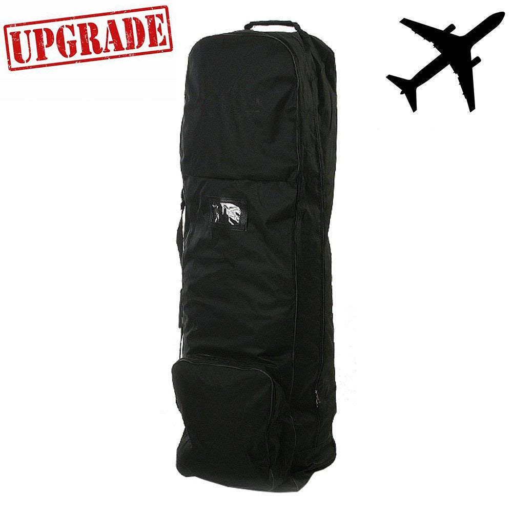 Zeudas Golf Travel Bags for Airlines with Wheels (1680D Nylon) by Zeudas
