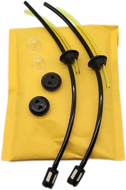 SWNKDG Filtro benzina universale kit tubo guarnizione per decespugliatore trimmer decespugliatore Mower cesoie cesoie