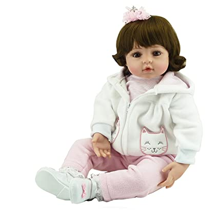 Amazon Com Soft Silicone Realistic Lifelike Reaborn Girls Toddlers
