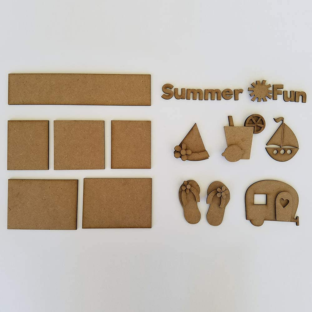 Foundations Décor, Shadow Box Kit - Summer Fun