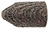 PFERD 46051 Policap Abrasive Cap, Shape G, Aluminum Oxide A, 9/32'' Diameter x 1/2'' Length, 150 Grit (Pack of 50)