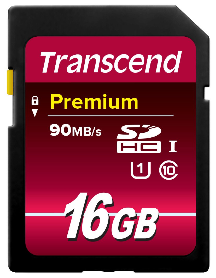 Transcend 32 GB High Speed 10 UHS Flash Memory Card, 90/25 MB/s (TS32GSDU1)