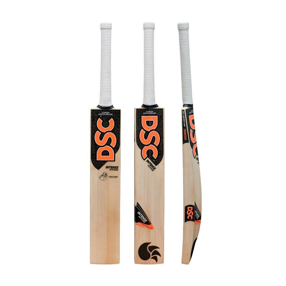 DSC Intense Attitude English Willow Cricket Bat Short Handle Mens