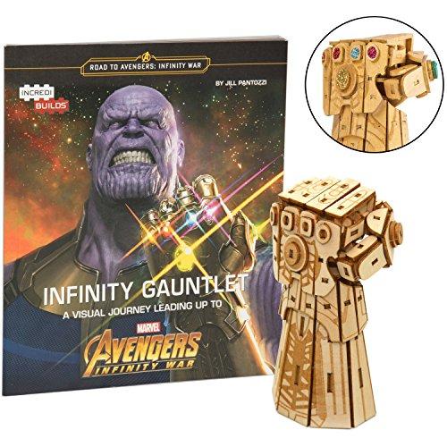 Marvel Avengers Infinity War Infinity Gauntlet Book and 3D W