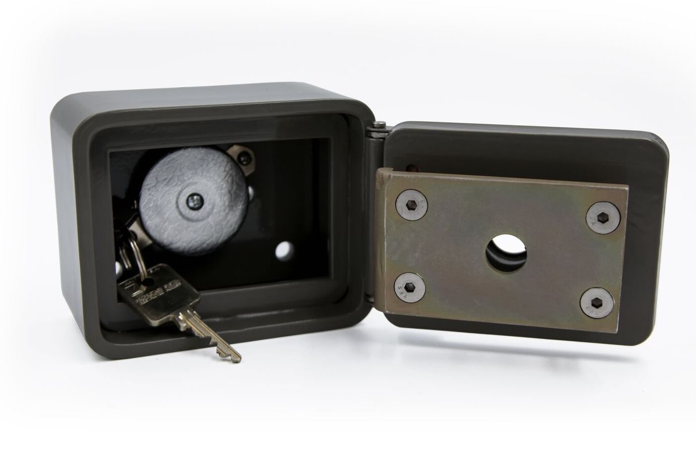 Knox U.S. Postal Key Keeper, Key Lock Box for U.S. Postal Use ONLY Building Access, Surface Mount, with Key Retractor Cable (NOT for FIRE DEPT OR EMS)