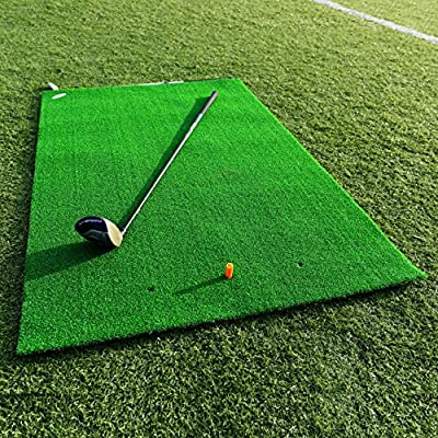 FORB Academy Golf Practice Mat (5ft x 3ft) - Roll Down Fairway Mat Lets You Practice Like The Pros [Net World Sports]