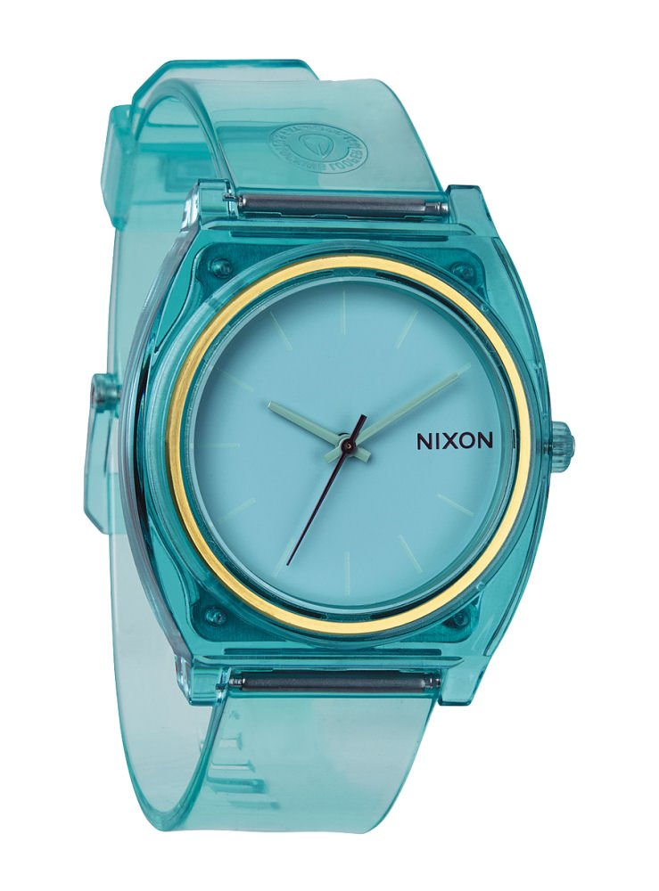 Nixon Men's A1191785-00 Time Teller P Analog Display Japanese Quartz Blue Watch