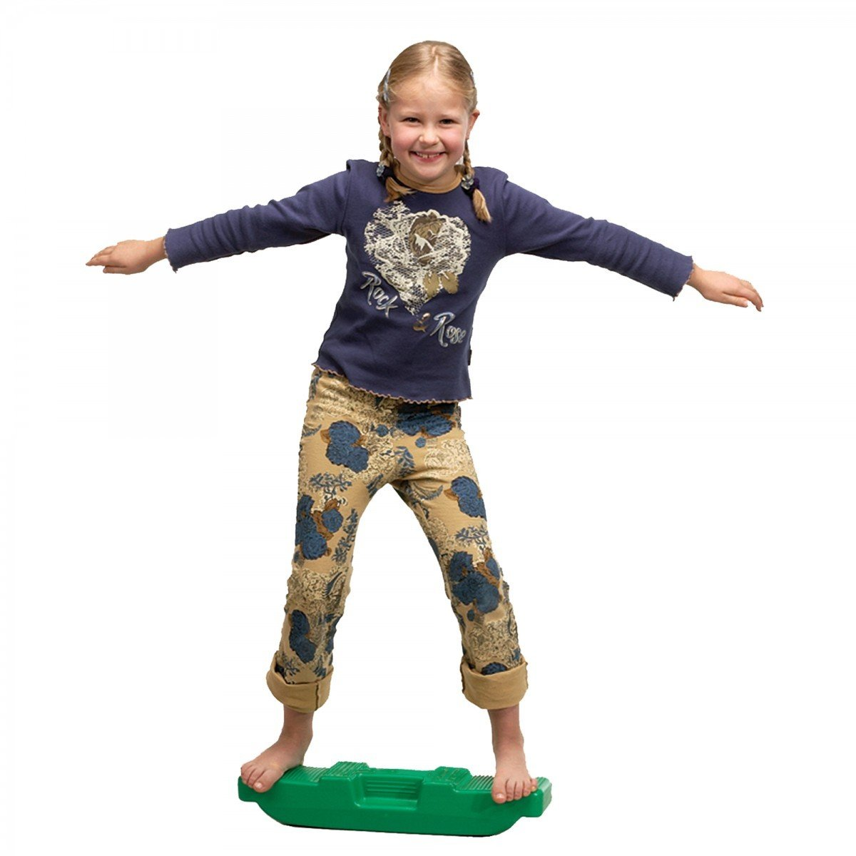 Gonge Wipp Walker 52x13x9, 5cm Koordination Balance Gleichgewicht Parcours grün Erhard Sport