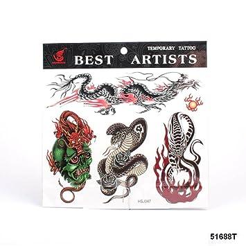 grandes tatuajes dragones chinos, Cobra, Serpiente y demonio ...