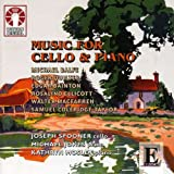 Romantics in England - Cello Music. Spooner/Jones