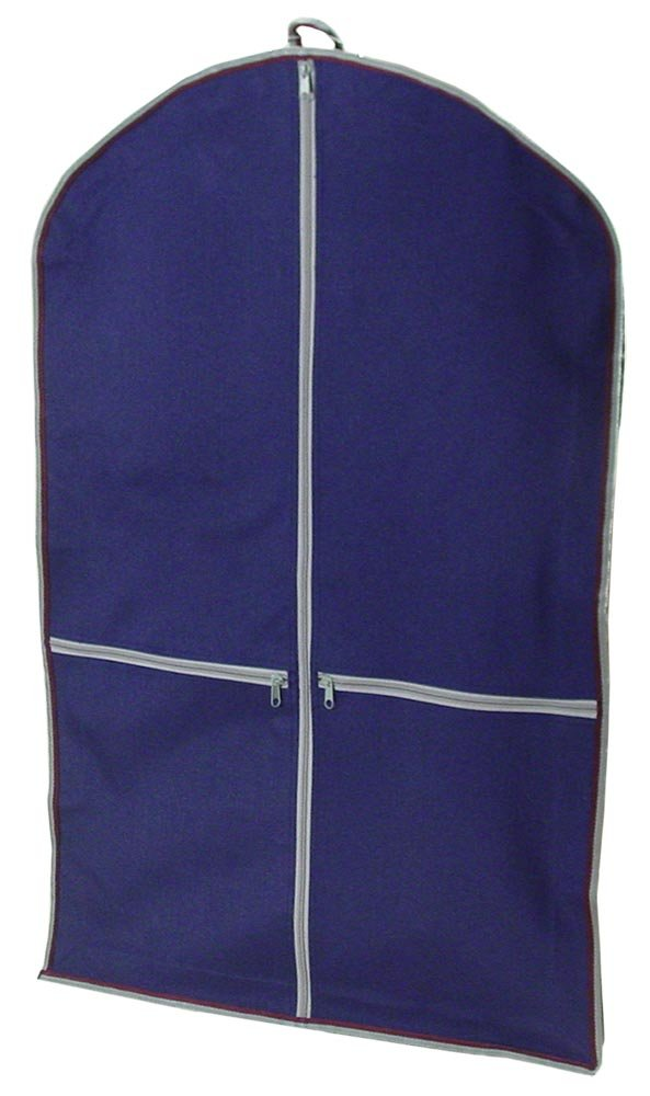 Navy Waterproof Garment Carry Bags with One Year Warranty