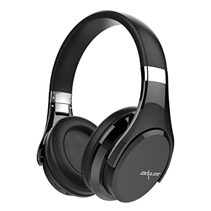 0296fbe7277 Bluetooth Over Ear Headphones Advanced Touch Gesture Control ZEALOT B21  Wireless Circumaural Earmuff Headsets with Microphone