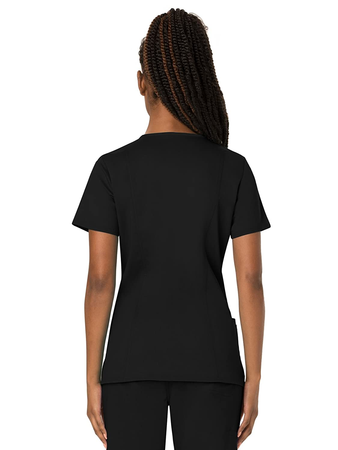 55c1305f749 Amazon.com: Cherokee Workwear Revolution Women's V-Neck Scrub Top: Clothing