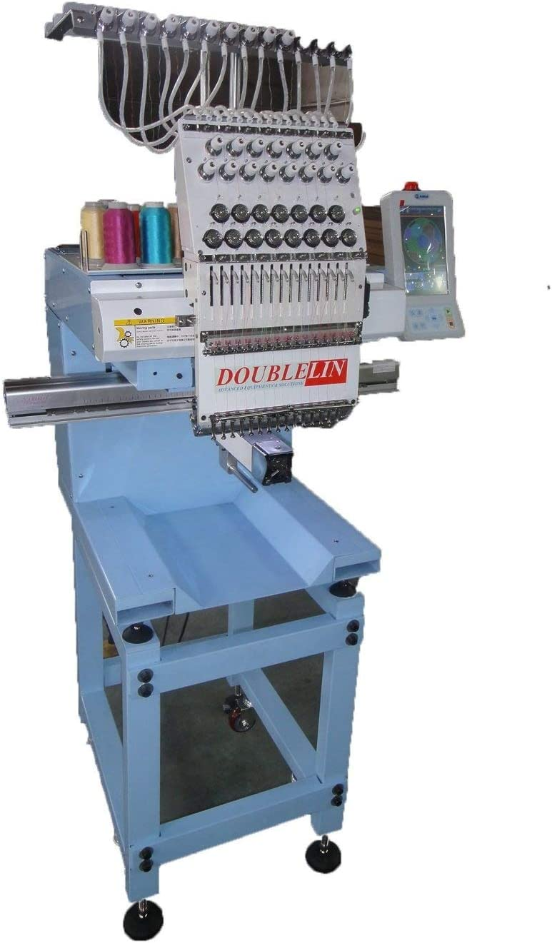 Best for Professionals: Double-Lin Compact Embroidery Machine