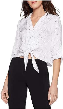 BCBGeneration Women's Tie Front Blouse