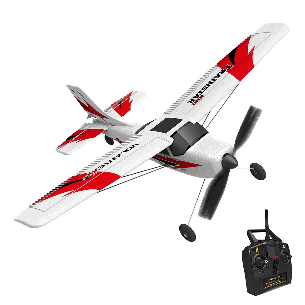 WONdere RC Airplane With 2.4GHz 6-Axis Gyro Easy To Fly 761-1 RTF Plane For Beginners