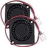 2Packs Wathai 30x30x10mm Brushless Turbo Blower Cooling Fan 30mm 12V ¡